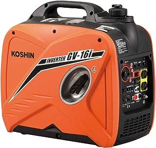 工進(KOSHIN) インバーター 正弦波 発電機 (定格出力1.6kVA) GV-16i 超低騒音型 防災用 災害用 静音 防音型 備蓄 災蓄 非常用 電源 台風 地震