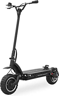 Dualtron Ultra High Speed Electric E Scooter for Adults Foldable, 5400W Peak Power Dual Motor  60V 35Ah 2072Wh Battery   80 Miles Distance   Climbing Grade 30°, Black