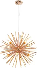 Ganeed Firework Chandeliers,Modern Rose Gold Pendant Lighting,Stanless Steel Ceiling Light Fixtures Wrought Aluminum Penda...