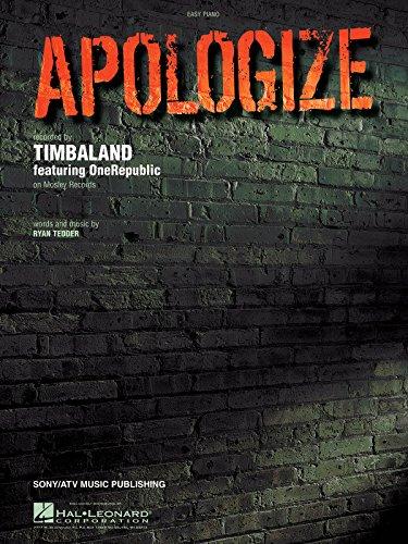 Apologize piano