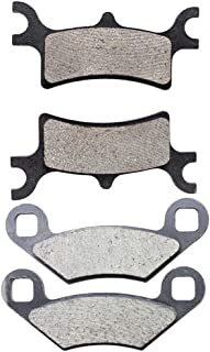 Road Passion Brake Pads Front and Rear for POLARIS 500 Sportsman Touring HO 2008-2013//800 Sportsman Touring//EFI 2008-2009//800 Sportsman X 2 EFI 2007-2009//400 Sportsman HO 4x4/ 2008-2010