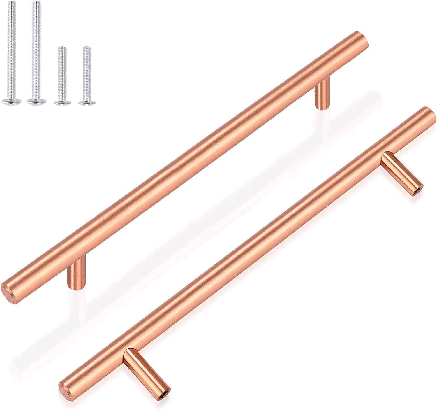 Ranking TOP5 GOBEKOR 10 Pack Cabinet Handles 6-3 K Center Hole Gold Max 83% OFF 10in Rose