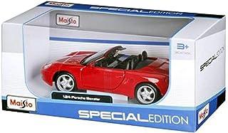 مايستو مجسم سيارة بورش بوكستر 1996 حجم 1:24 ، احمر