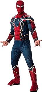 Men's Marvel: Avengers 4 Men's Deluxe Iron Spider Costume and Mask Adult Costume