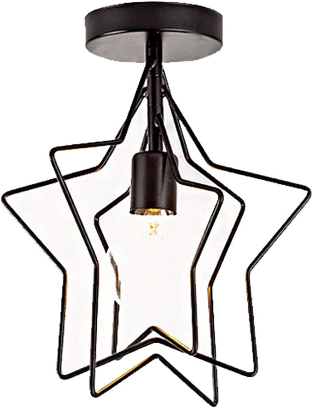 Max 52% OFF supreme CXYTX Simple Industrial Style Star Ceiling Lamp Children's Five-