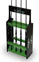 Vexan Super 16 Fishing Rod Rack - Perfect for Bass, Walleye, Crappie, Musky, Northern Pike, Inshore, Catfish & Perch Fishing Rod Reel Holder