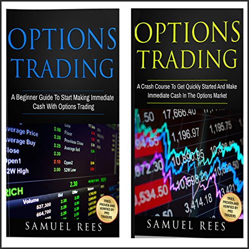 Options Trading for Beginners: 2 Manuscripts audiobook cover art