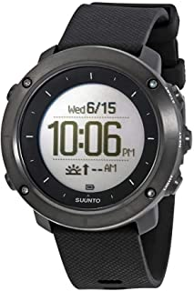 SUUNTO Traverse Watch - Sapphire Black, one Size