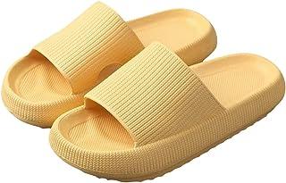 Riou Pantofole a Cuscino, Piedi a Nuvola Pantofole Ultra Morbide Sandali Antiscivolo Asciugatura Rapida, Sandali Unisex Ul...