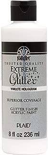 FolkArt WM327E Glitter Paint, 8 oz, Hologram