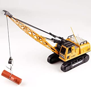 AIOJY 12 Channel Light Music Children Toy Engineering Vehicle Remote Control Engineering Vehicle Crawler Simulation Crane Best New Year Christmas RC Vehicle Gifts for Kids