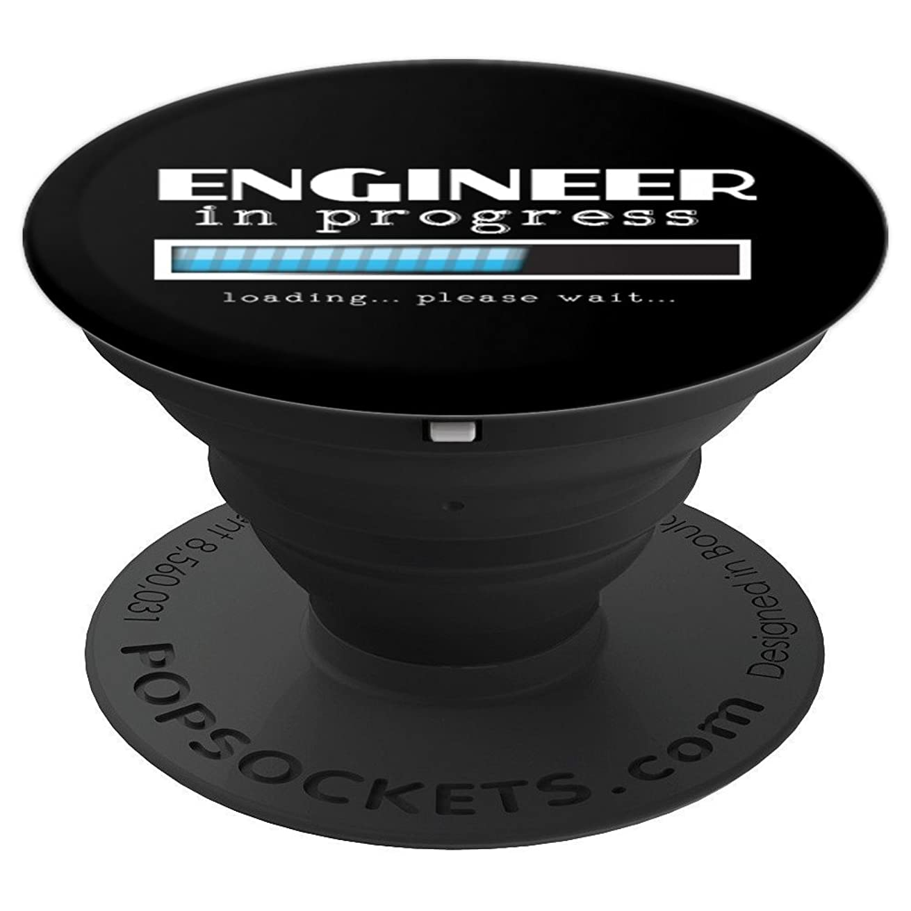 Engineer In Progress Funny College Student Major Gift Men - PopSockets Grip and Stand for Phones and Tablets