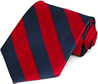 Best navy blue and red striped tie Reviews