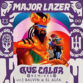 Que Calor (with J Balvin & El Alfa) (Remixes)