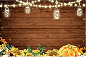 BESPORTBLE Rustic Wooden Floor Photography Background Backdrops Wooden Photoshoot Board Photo Studio Prop for Baby Shower ...