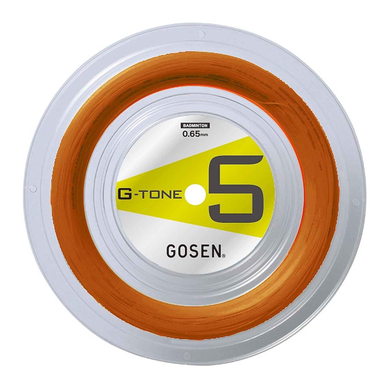 ゴーセン(GOSEN) バドミントンストリング G-TONE 5 220m ロール オレンジ G-BS0653-OR