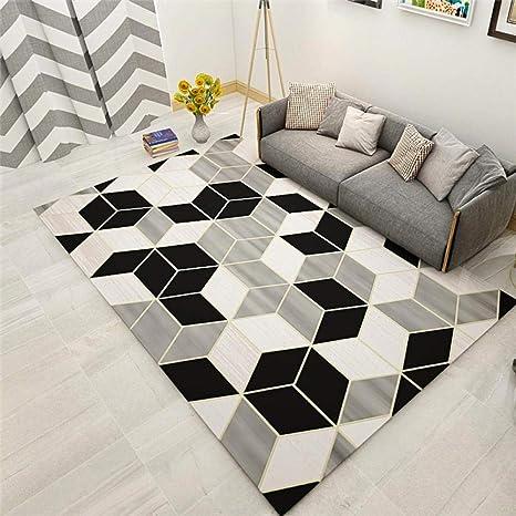 Modern 3D Living room area Rug