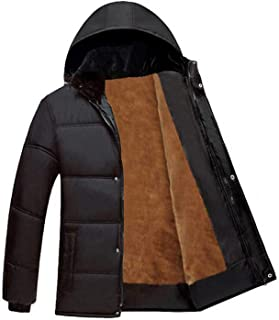 New Winter Thick Warm Cotton Male Jacket Men Parka Wadded Outerwear Padded Quilted Coat