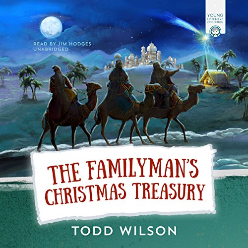 The Familyman's Christmas Treasury audiobook cover art