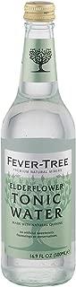 Fever - Tree Elderflower Tonic Water - Tonic Water - Case of 8-16.9 FL oz.