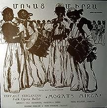Yervant Yerganian Folk Opera Ballet: Mogats Mirza LP