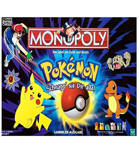 Hasbro 41357100 - Pokémon Monopoly