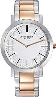 Pierre Cardin Mens Analogue Classic Quartz Watch with Stainless Steel Strap PC108111F06