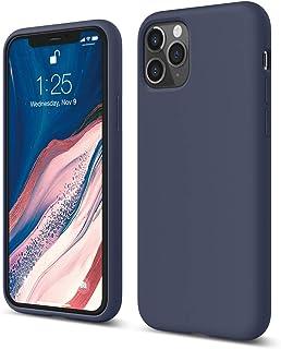 "elago Liquid Silicone iPhone 11 Pro Case Cover Compatible with Apple iPhone 11 Pro (5.8"") - Premium Shockproof Gel Rubber Case, 3 Layer Structure, Soft Grip (Jean Indigo)"