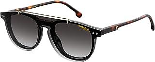 Carrera 2024T/C Rectangular Sungl, Black/Gray Shaded, 47mm, 18mm