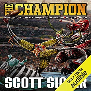 The Champion audiobook cover art