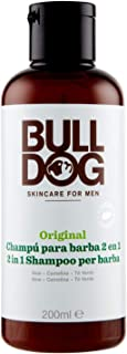 BULL DOG champú para barba 2 en 1 dosificador 200 ml
