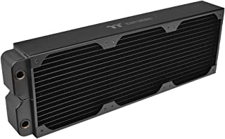 Thermaltake Pacific CL360 Radiator DIY Liquid Cooling System - 64mm Thick, Triple Row Copper Flat Tube, High-Density Coppe...