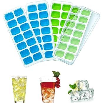 N//W Moule /à gla/çons en Silicone avec Couvercle Whisky Cocktail et Autres Boissons Peut /être utilis/é dans Le cong/élateur et Le Four bac /à gla/çons pour cong/élateur