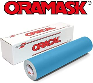 Oracal ORAMASK 813 Stencil Film 12.125 Inches x 25 Foot Roll for cricut, silhouette, cameo, craft cutters