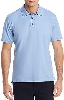 468c935a97ff Robert Graham Men s Sky Blue Classic Fit Mesh Polo Shirt