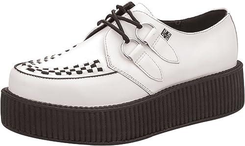 T.U.K. TUK AV6803 Weiß Leder Schuhe Schuhe Schuhe Creepers Unisex Viva Sohle  Marke kaufen