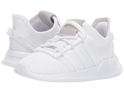 adidas Originals Kids U_Path Run EL I (Toddler) (White) Kids Shoes