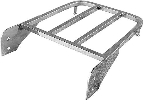 discount Mallofusa Passenger Chrome Sissy Bar Luggage Rack lowest for Suzuki Intruder/Volusia VL800 2001-2011 & Boulevard M50 2005-2009 & Boulevard discount C50 2005-2011 outlet sale