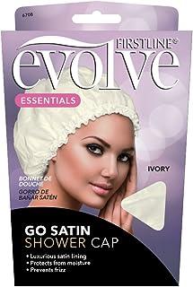 Firstline® Evolve® Go Satin Shower Cap - Ivory