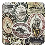 Guinness Label Montage - Posavasos con diseño