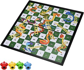 CEC 蛇と梯子 ボードゲーム ミニゲーム 折り畳み式 おもちゃ