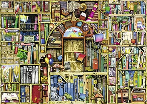 Ravensburger Puzzle 1000 Piezas, La Biblioteca Extraña, Colección Fantasy, Rompecabezas Ravensburger de óptima calidad, Jigsaw Puzzle para Adultos