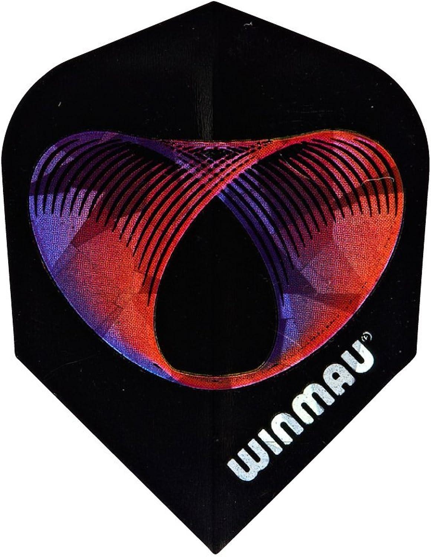 (Rings in Space(112))  Winmau 3D Standard Dart Flights(9 flights)