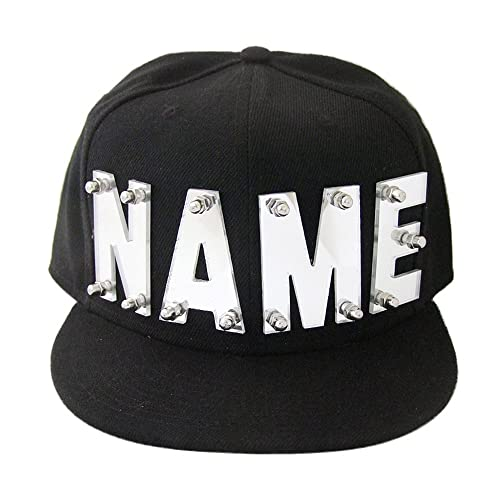 d658801d2a0 Mirror Silver Mirror Gold Acrylic Letters Hat