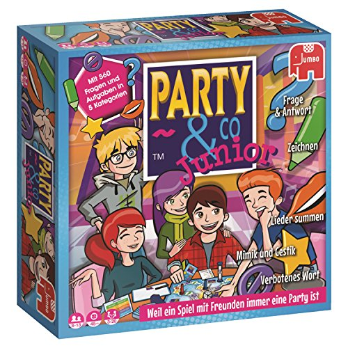 Jumbo Spiele 17793 Party & Co. Junior, Spiel