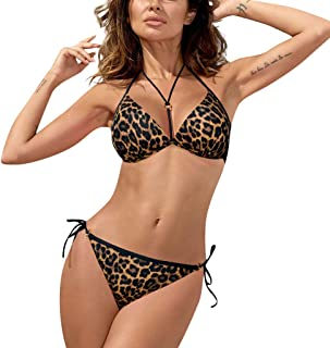 GRIPY Bikini Women Swimwear Womens Padded Push-up Bra Bikini Set Swimsuit Bathing Suit Swimwear Beachwear