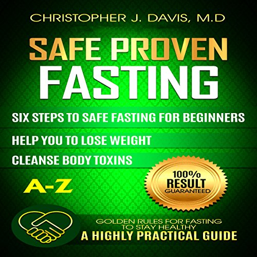 Safe and Proven Fasting Guide audiobook cover art