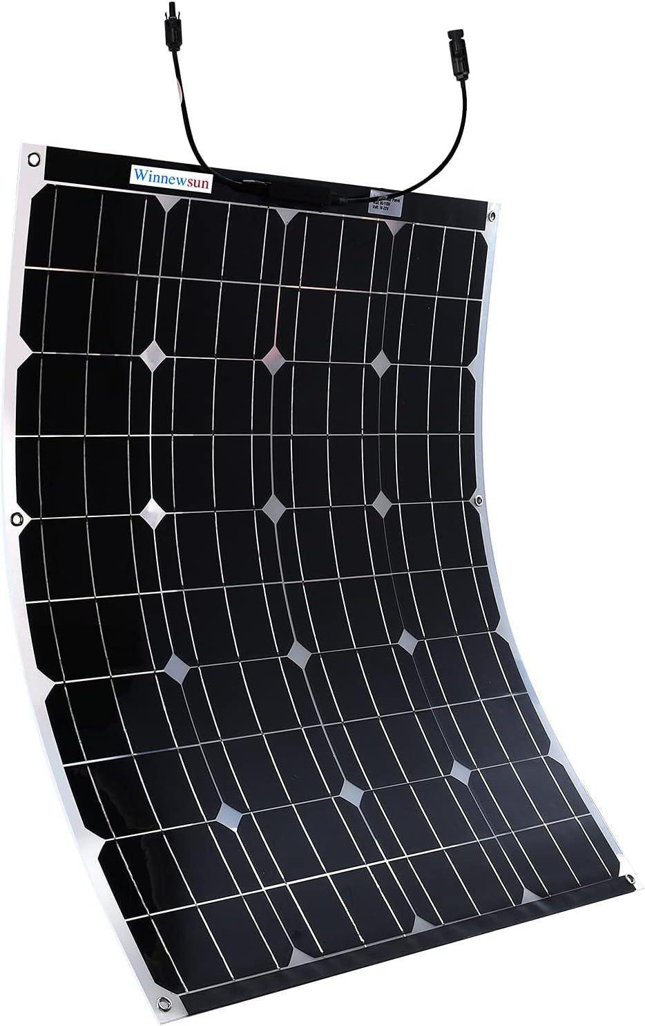 Winnewsun Flexible Solar Panel Bifacial Flexible Solar Panel
