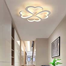 4 Head Modern Simplicity LED Ceiling Light 36W Acrylic Ceiling Lamp Dimmable Ceiling Lighting Fixture for Bedroom Living R...