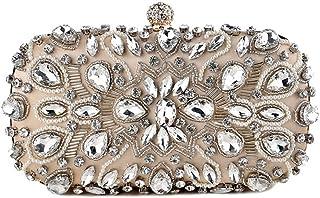 SJZERO Pochette pour femme diamant luxe mariage d?ner fête sac à main et sac de poignet correspondant vêtements dame sac à...